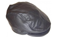 Lambskin Leather Cap