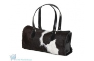 Florian Cowhide Leather Box Bag