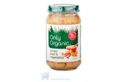 only organic baby savoury beef and vegetable