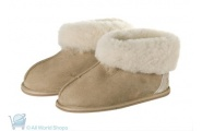 childrens sheepskin slippers
