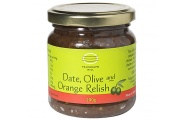 date olive and orange relish