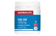 Omega 3 Fish Oil - 1000mg - 180 Capsules