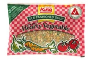 hearty vegetable soup mix king old fashioned
