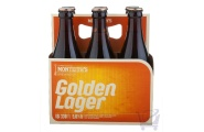 Golden Lager 330 ml by Monteith's X 6 Bottles