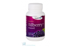 Natural Bilberry Vitamion C Chewable Tablets