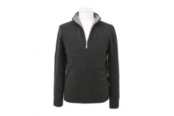 Half zip sweater graphite