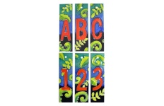 ceramic letter and number tiles