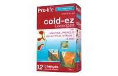 hot menthol cold lozenges
