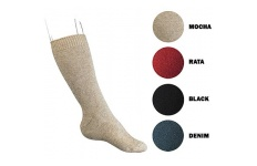 McDonald New Zealand Possum Merino Fine Socks