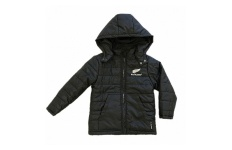 All Blacks Infant/Kids Puffer Jacket with Hood