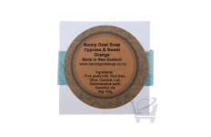 Handmade Goat's Milk Soap Cypress and Sweet Orange